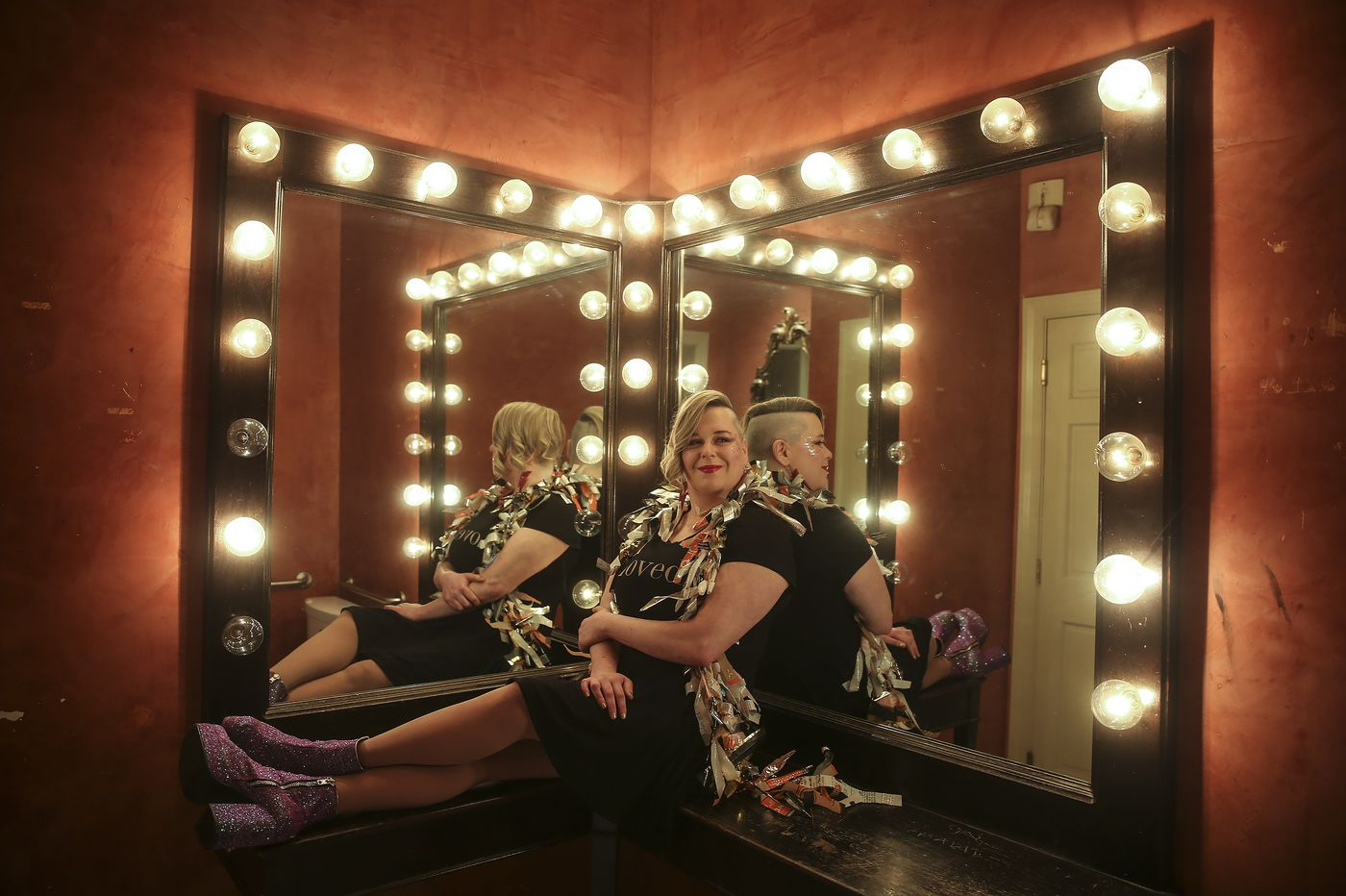 Cabaret darling Shannon Turner cheated death three times. She comes alive on stage.