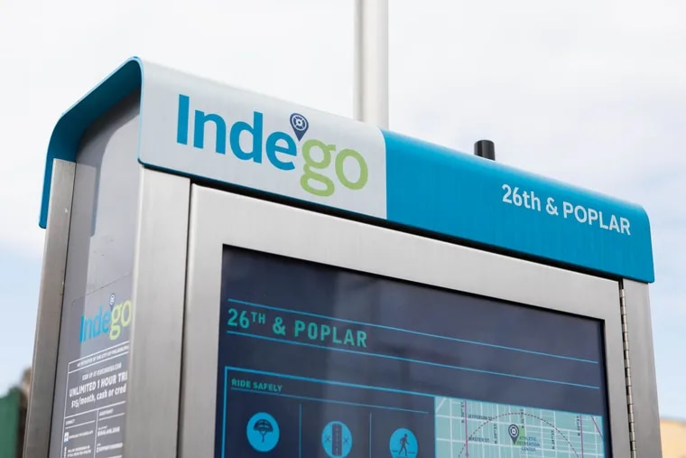 Indego, Philadelphia's bikeshare program, was launched in 2015 and now boasts 1,400 bikes and more than 140 stations, including this one at 26th and Poplar Streets in Brewerytown.