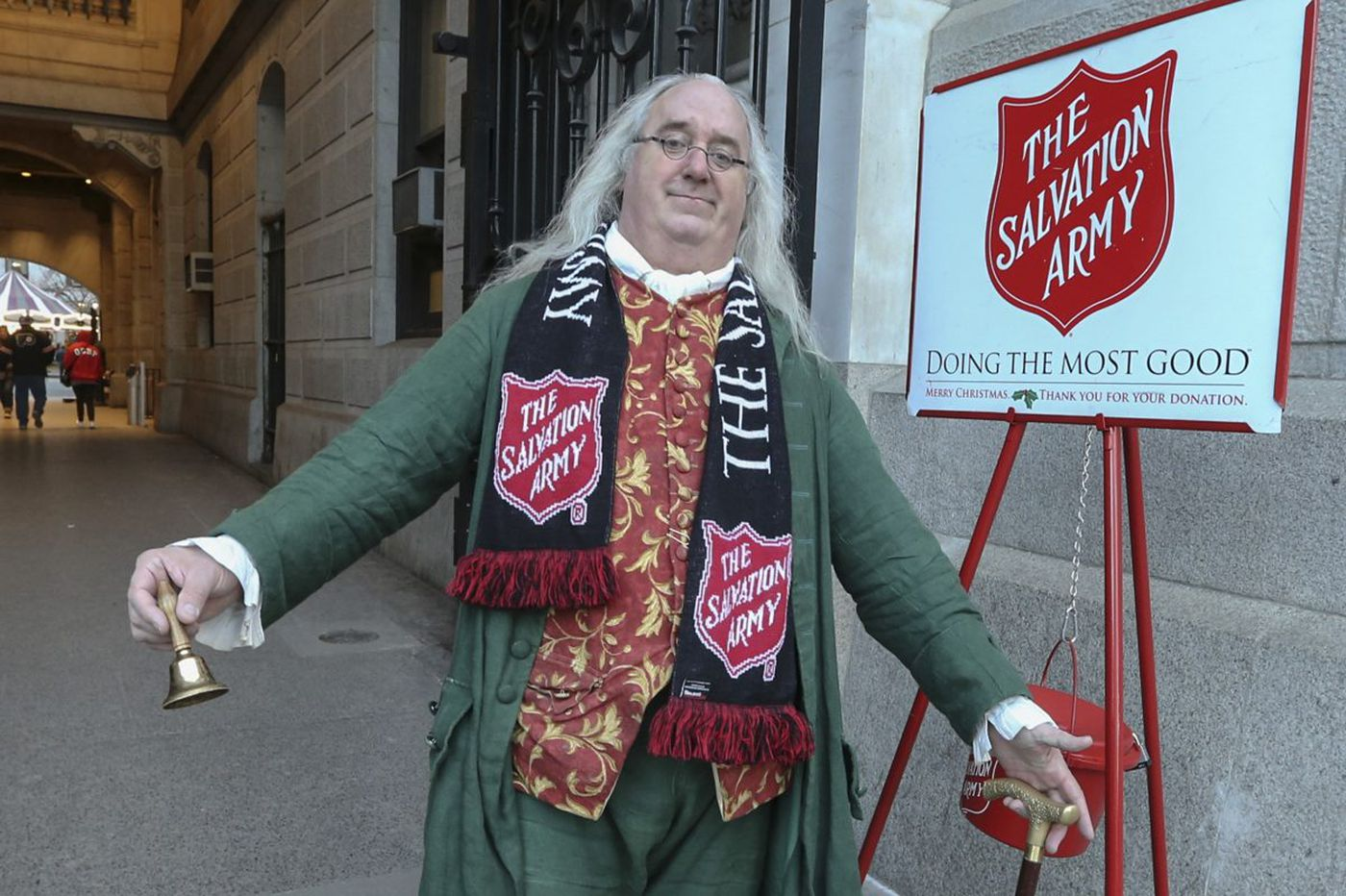 Ben Franklin, Founding Father and Salvation Army bell ringer | We the People