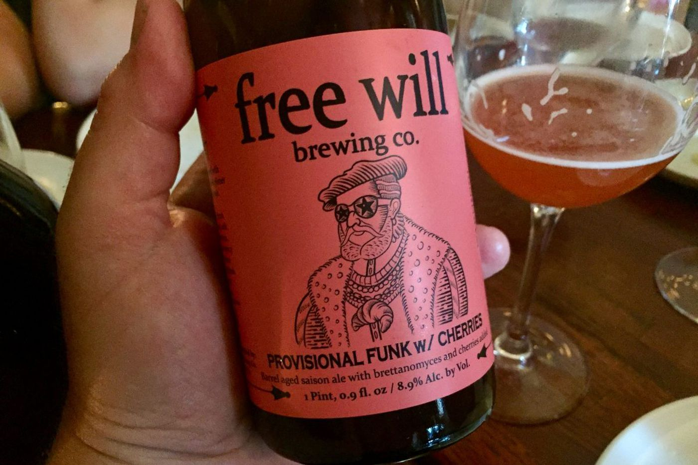 It's the season for saison with fruity funk at Free Will Brewing Co.