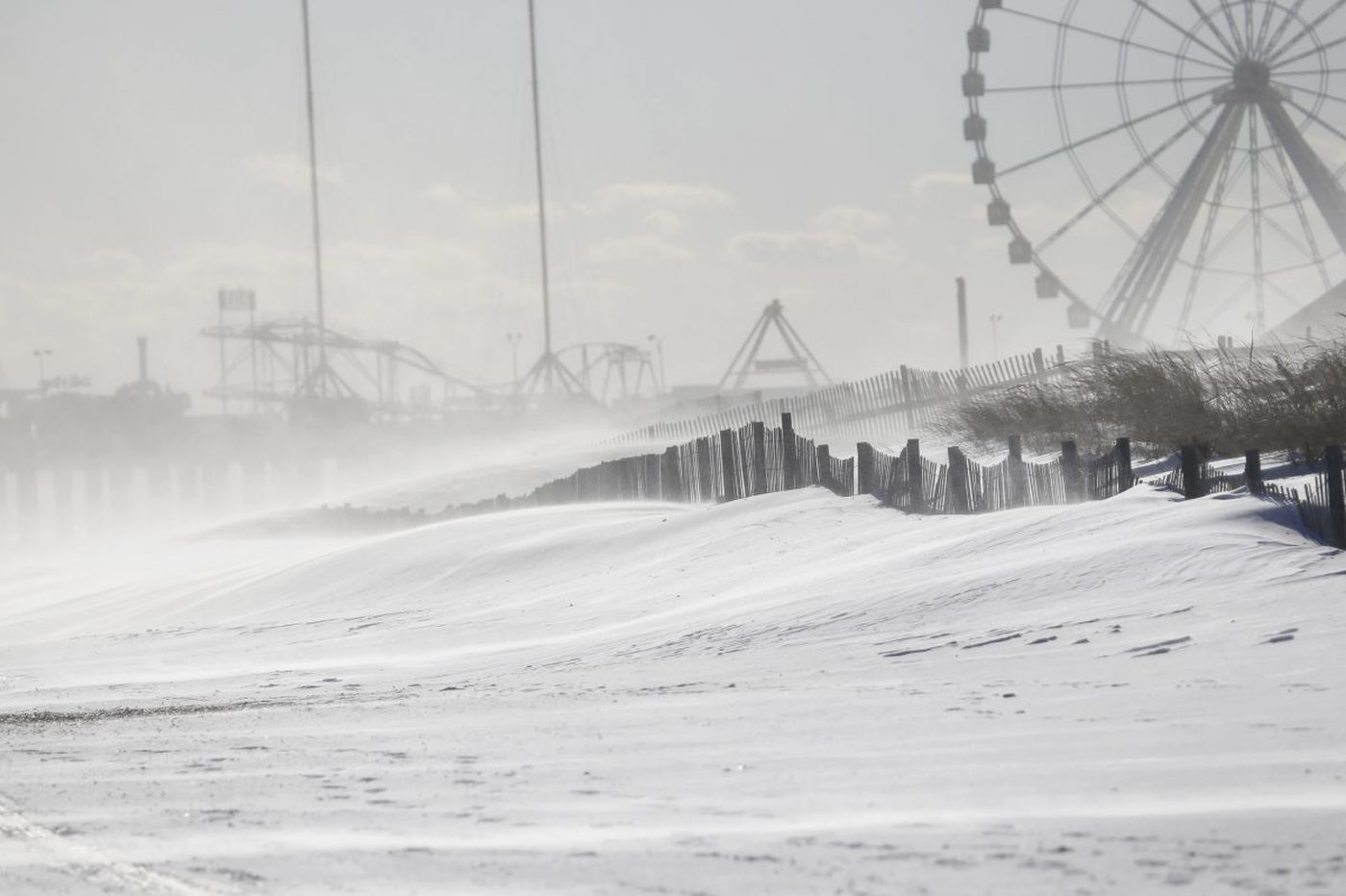 Jersey Shore digs out after winter storm, but frigid conditions remain