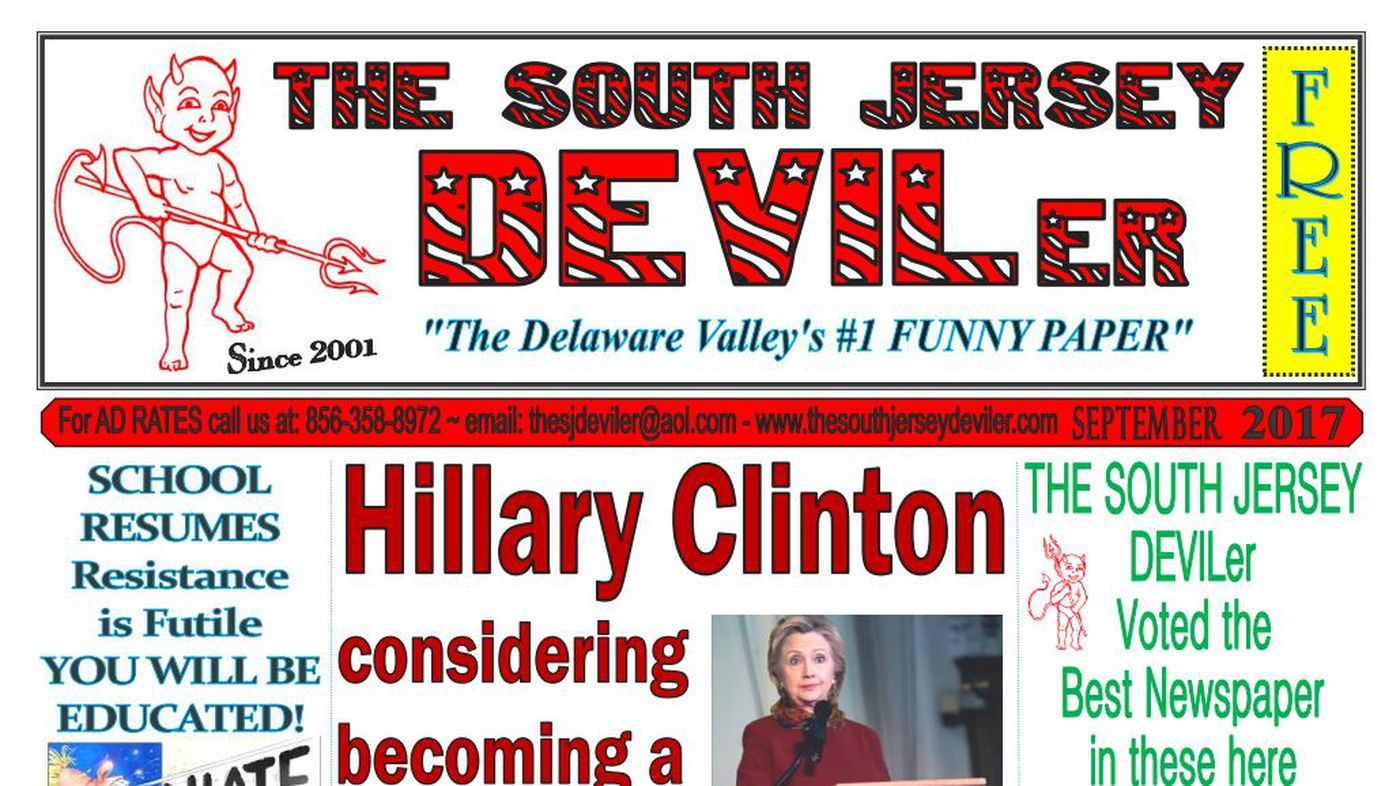 Fake news a big hit for rural South Jersey 'funny paper'