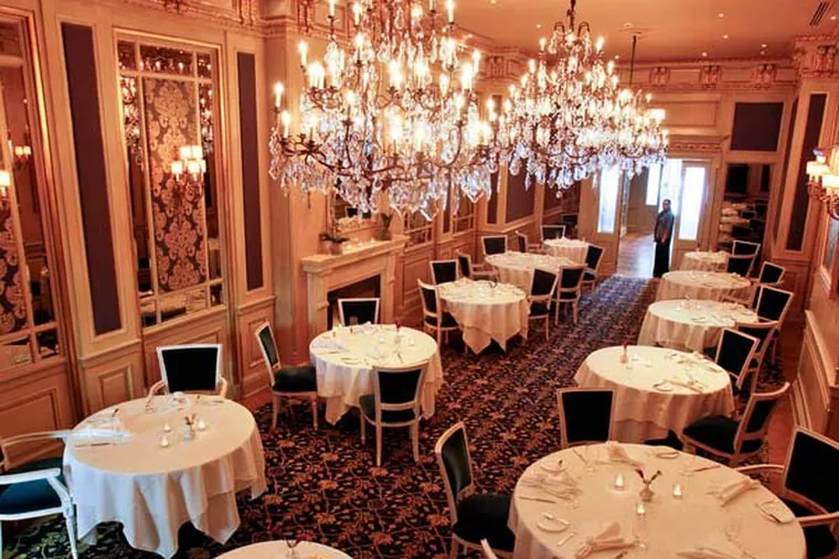 The main dining room. Le Bec Fin reopens.  ( MICHAEL S. WIRTZ / Staff Photographer ) June 13, 2012.