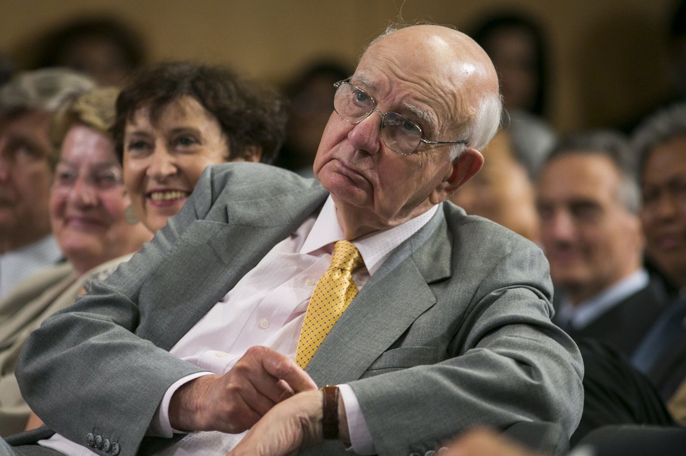 Paul Volcker, Cape May-born inflation tamer who set bank risk rule, dies at 92