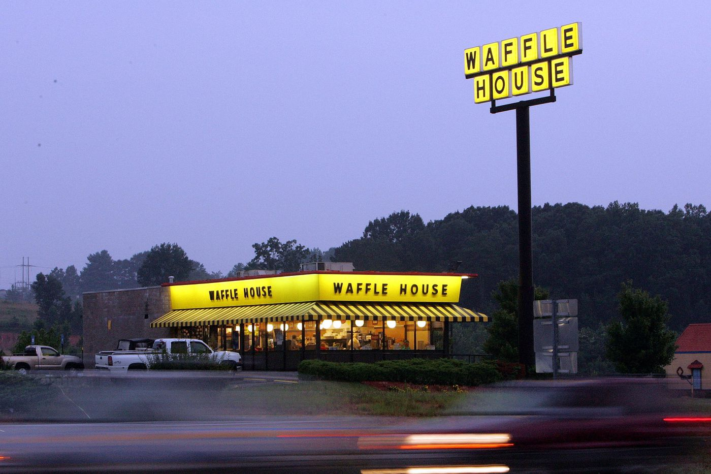 Waffle House helps FEMA assess storm damage