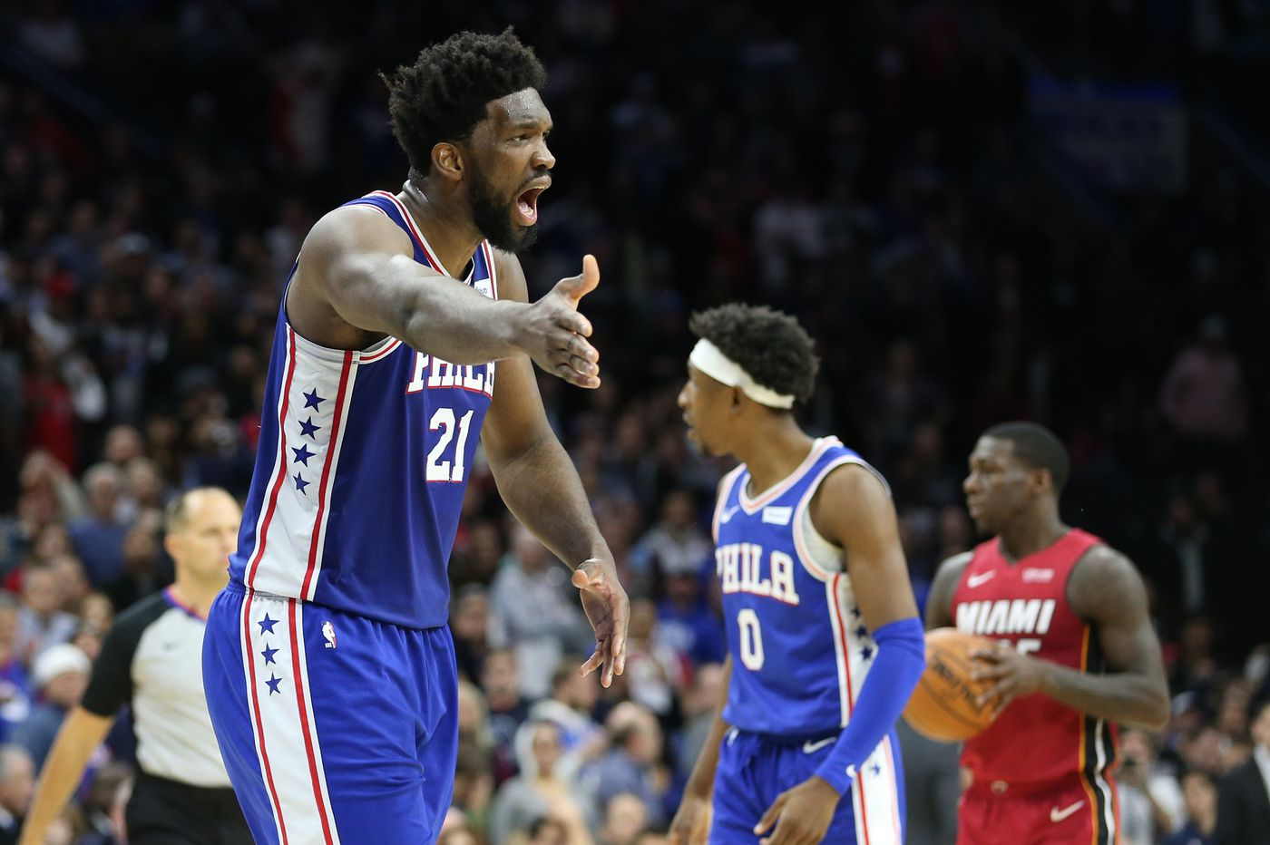 Why isn't Joel Embiid having as much fun this year? | Off the Dribble