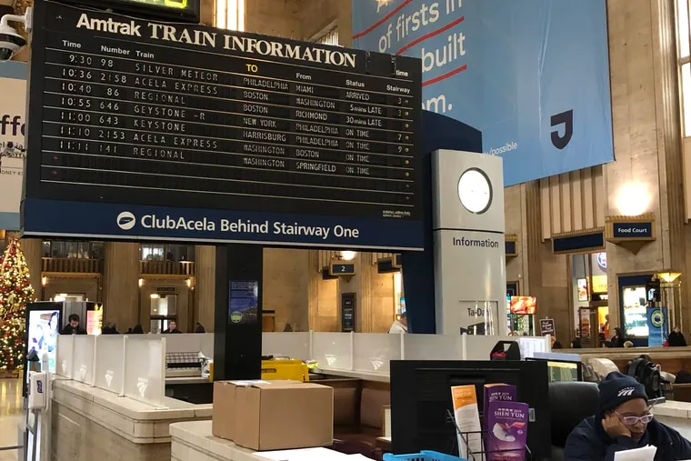The electro-mechanical flipboard has been the centerpiece at 30th Street Station since the early '70s.
