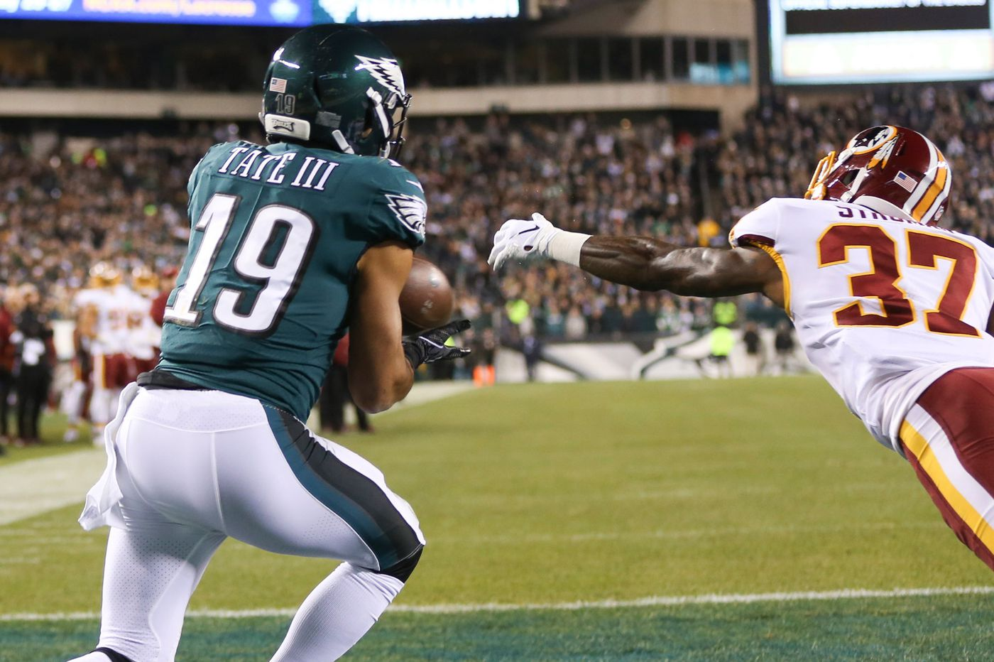 Golden Tate continues to gain Carson Wentz's trust with impressive performance against Redskins