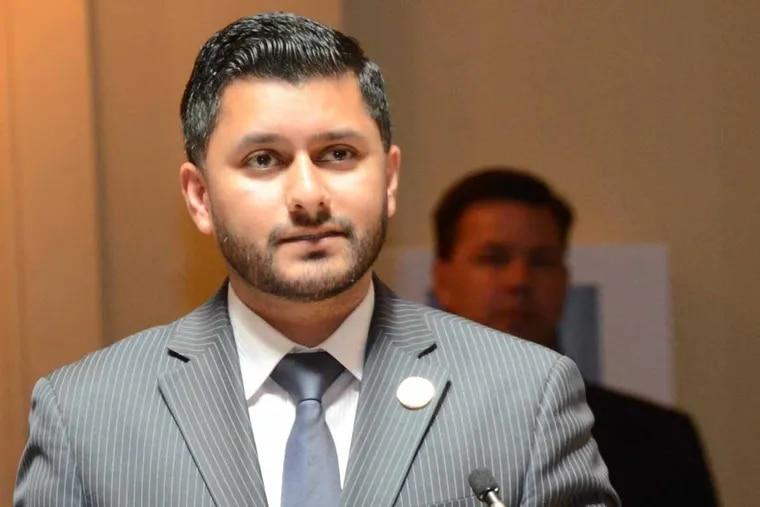 N.J. Assemblyman Raj Mukherji (D-Hudson).