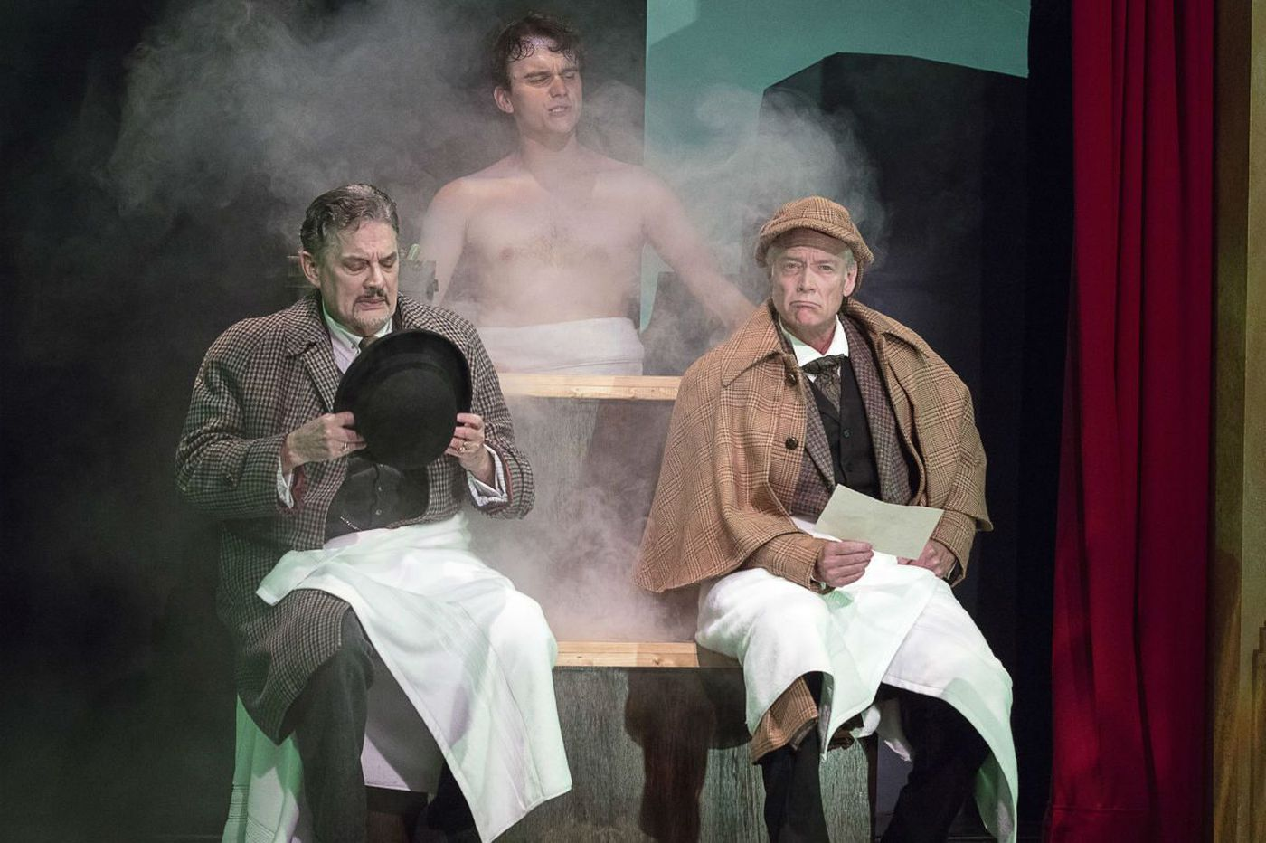 Pa. Shakespeare's 'Baskervilles': Loving send-up of theater itself