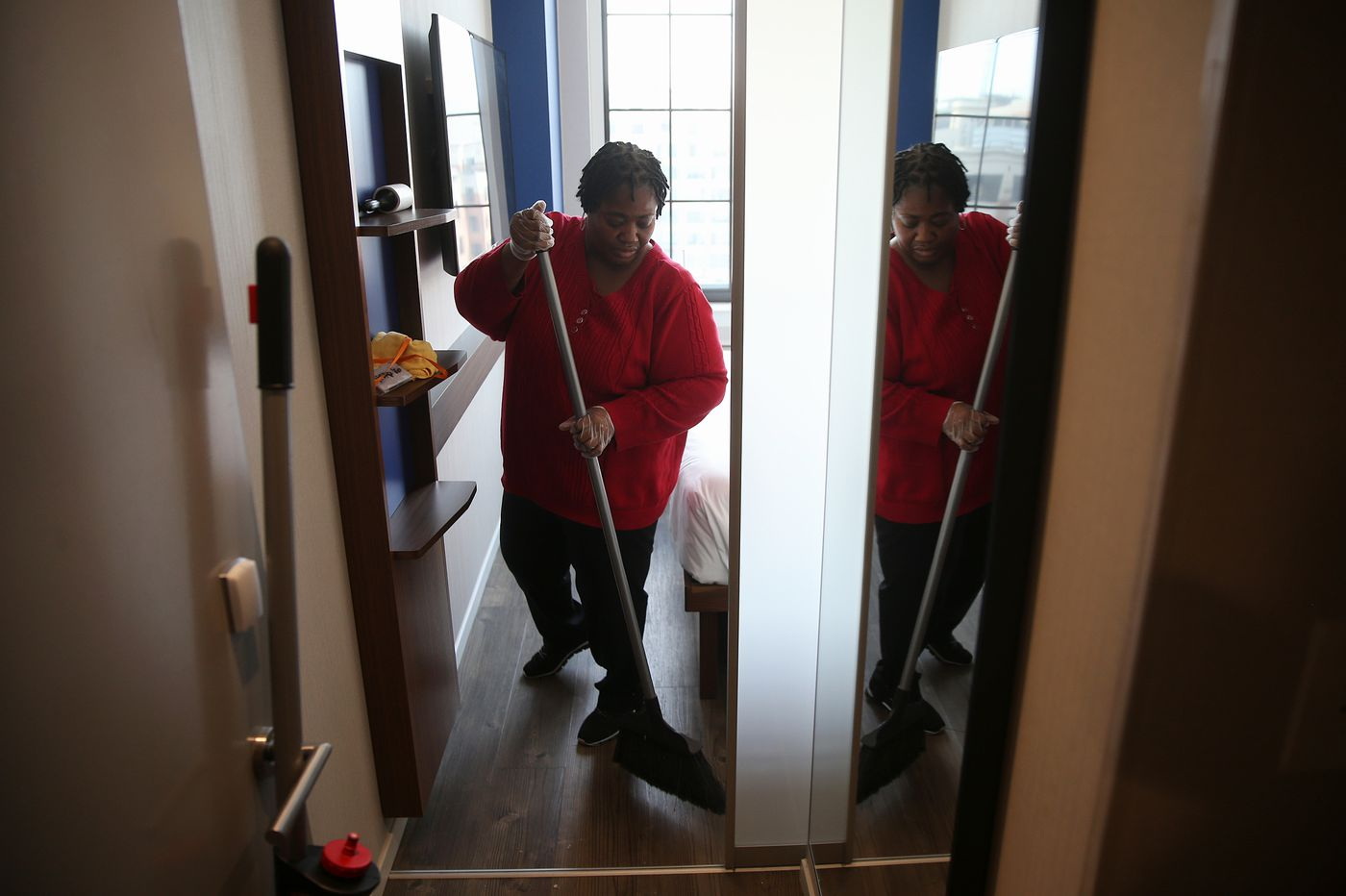 N.J. requires hotels to provide 'panic buttons' for cleaners