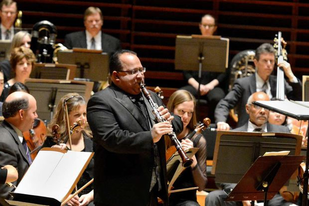 Philadelphia Orchestra clarinetist Ricardo Morales reminds us again how lucky we are to have him