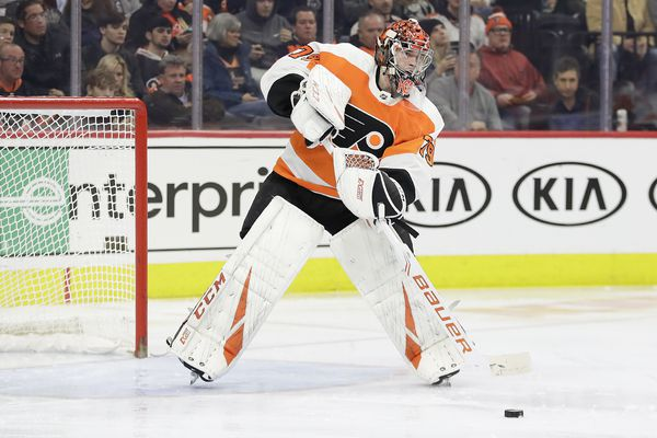 Flyers goalie Carter Hart to miss 2-3 weeks with abdominal strain; Joel Farabee sent to Phantoms — for now