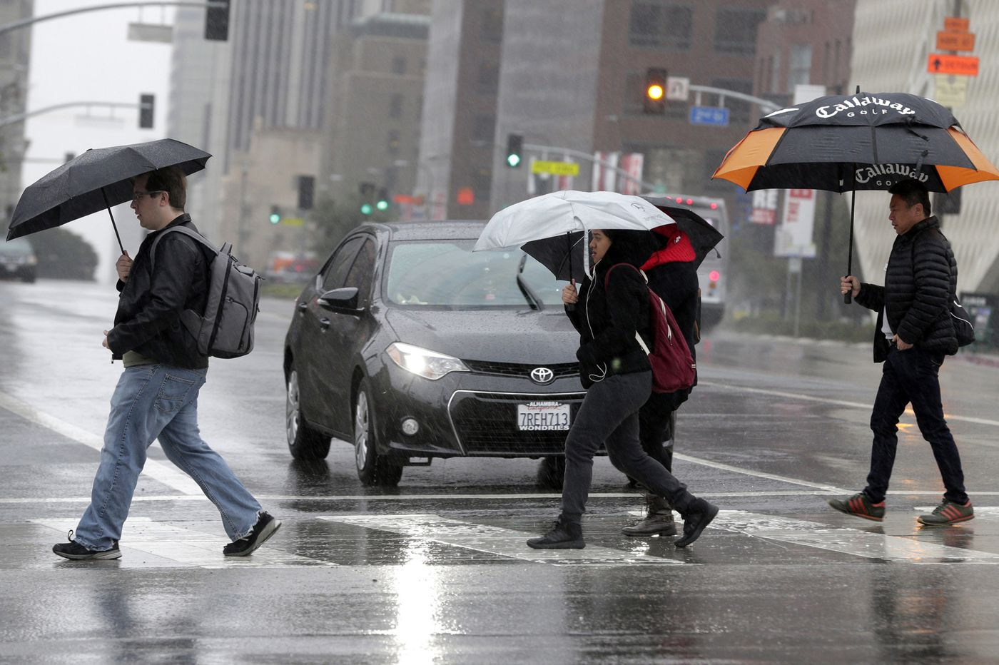 Even light rain increases your risk of a deadly car crash