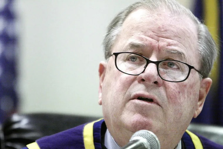 Ron Castille, former chief justice of Pennsylvania, was forced to retire from the bench last year when he turned 70.