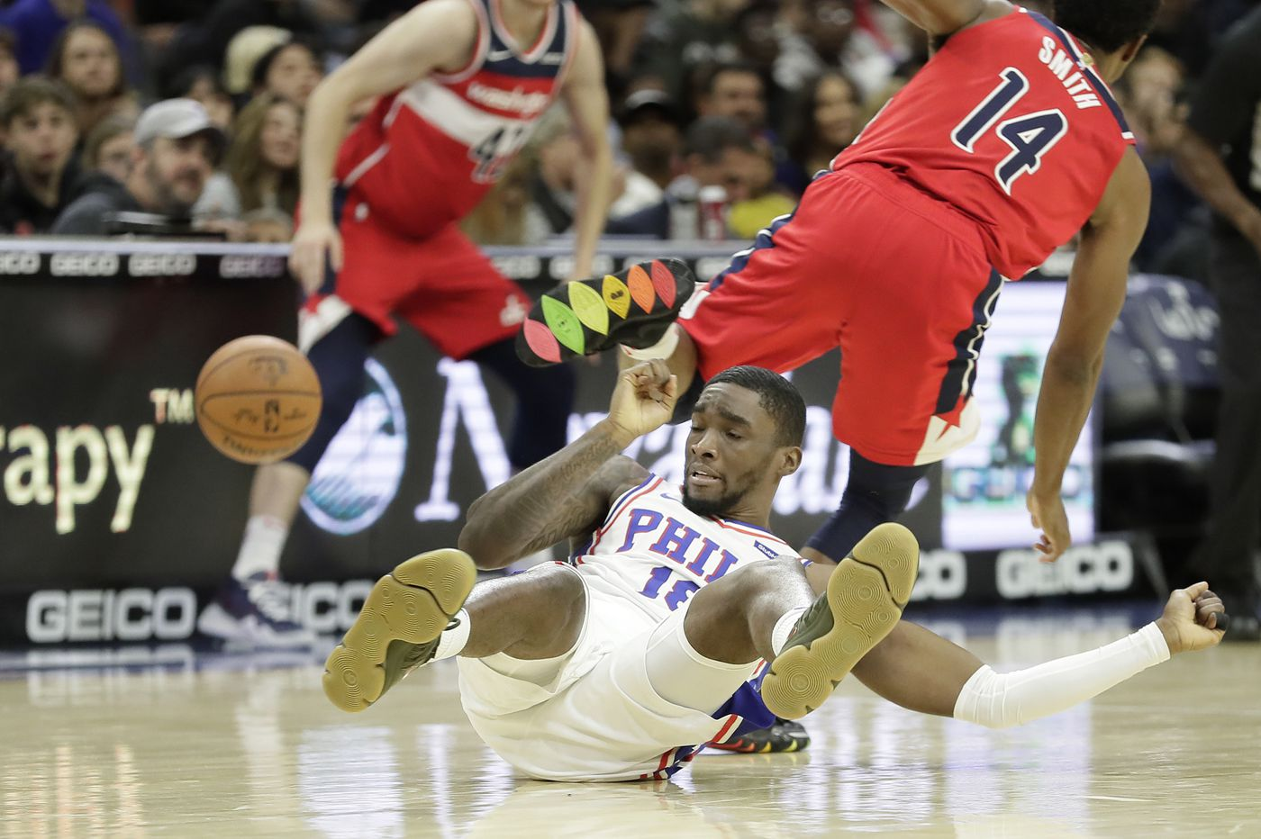 What we learned: The Sixers have some questions to answer on the perimeter, and three other takeaways from a blowout loss to the Wizards | David Murphy