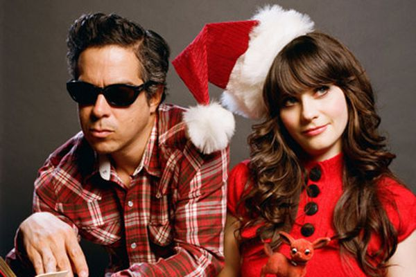Zooey Deschanel of She & Him on how singing Christmas carols is her favorite thing