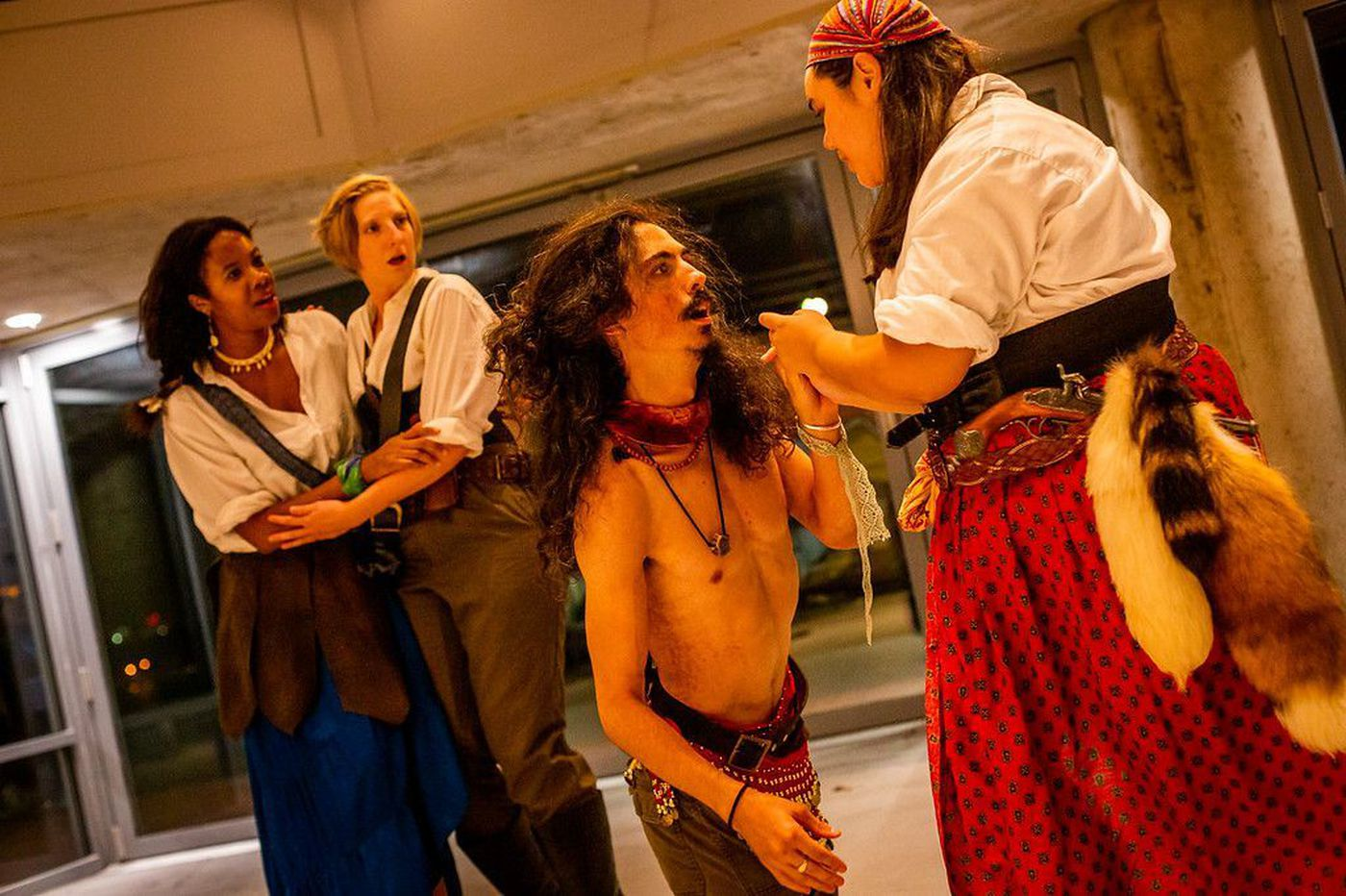 PAC's 'Sea Voyage' at Independence Seaport Museum: Pirates, mayhem, humor, sex — and a very game cast