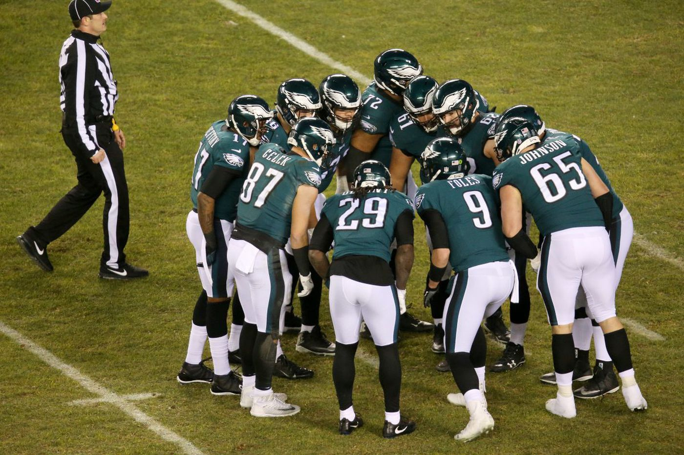 Eagles 15, Falcons 10: Up-down drill, playoff edition | Jeff McLane