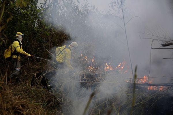 Amazon fires: Jair Bolsonaro wants Emmanuel Macron to apologize