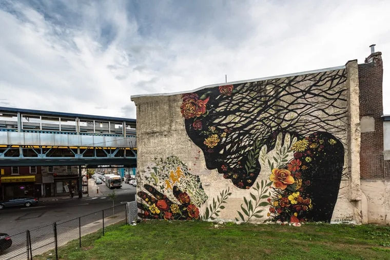 A Daughter Migrates Towards the Mother Earth by Jess X Snow at Kensington Avenue and D Street.