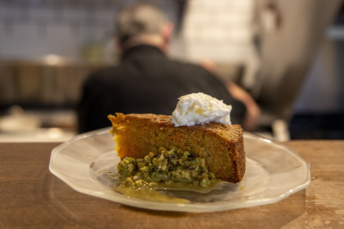 The carrot cake at The Little Hen is based on the Frog Commissary dessert.