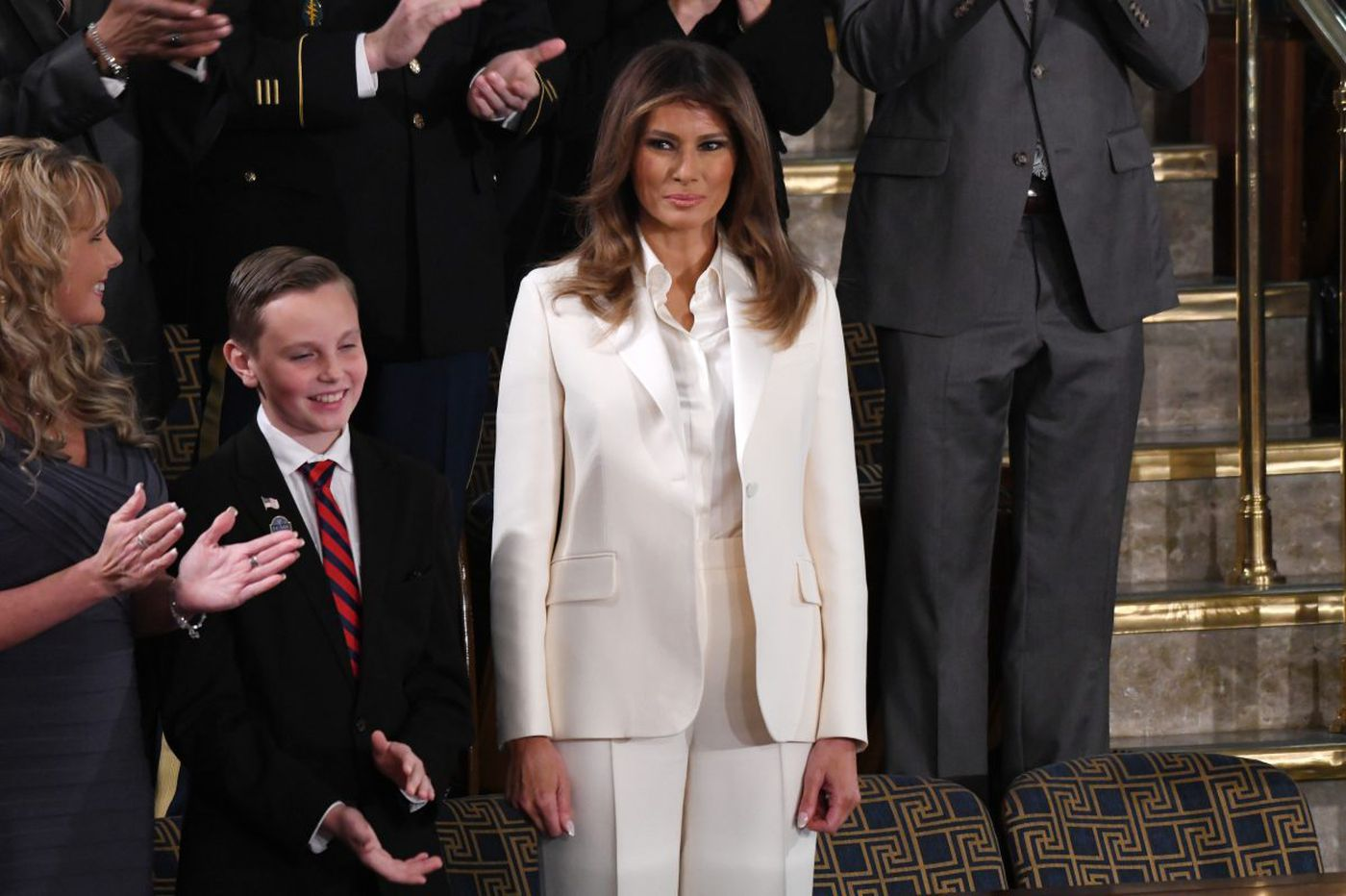 Why what Melania Trump wore to the State of the Union matters