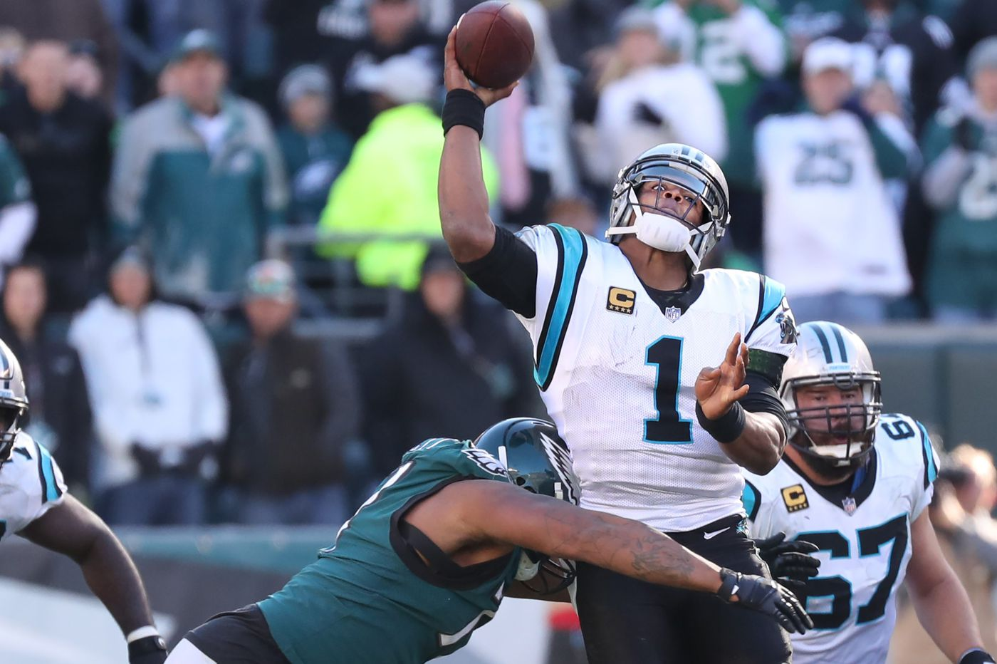 Grading the Eagles: Pass defense gets an 'F' in loss to Panthers | Paul Domowitch