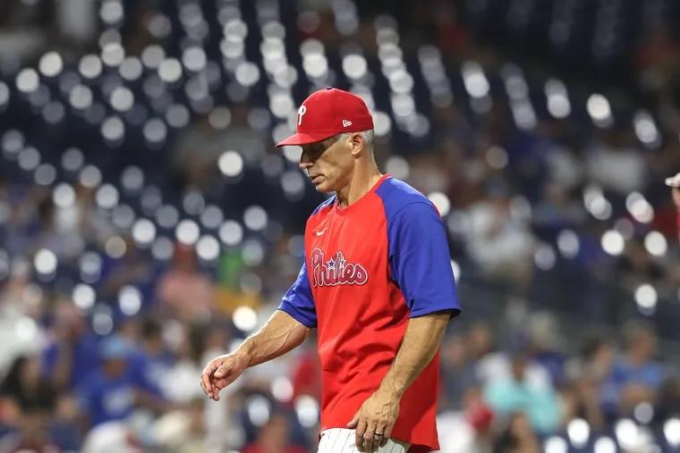 Phillies manager Joe Girardi stuck with Zack Wheeler too long Wednesday night.
