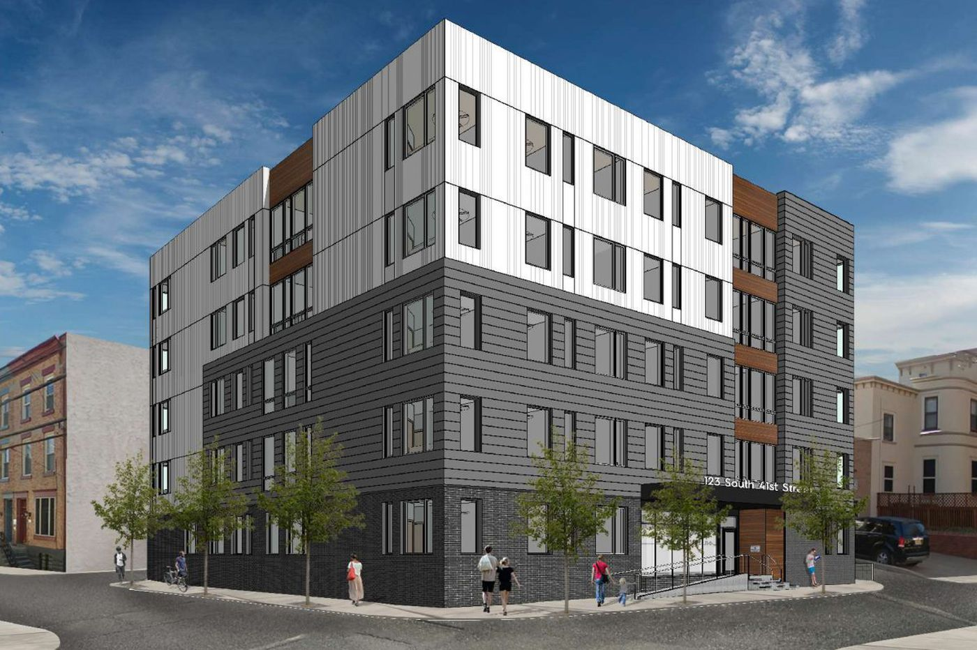 Campus Apartments starts first new student units on West Philly home turf