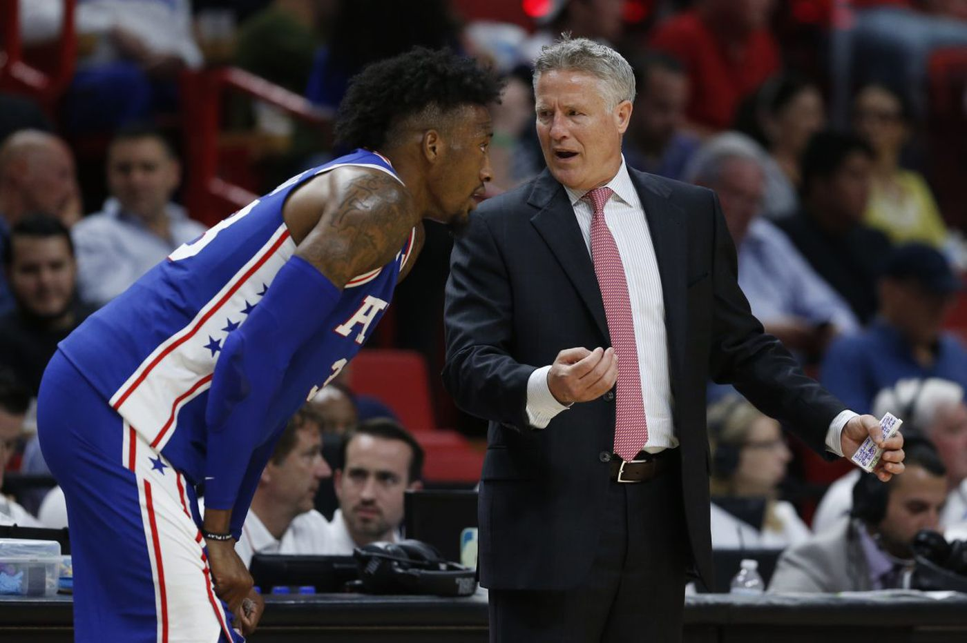 Sixers' Brett Brown still sees warts despite big win over Cavaliers | Keith Pompey