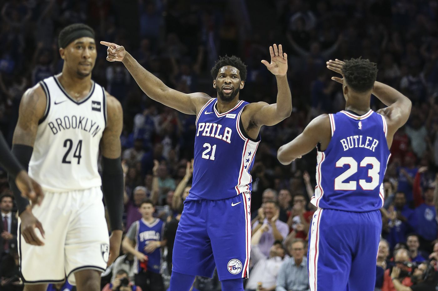 Sixers' defensive effort against Nets sparked convincing NBA playoff series-clinching win