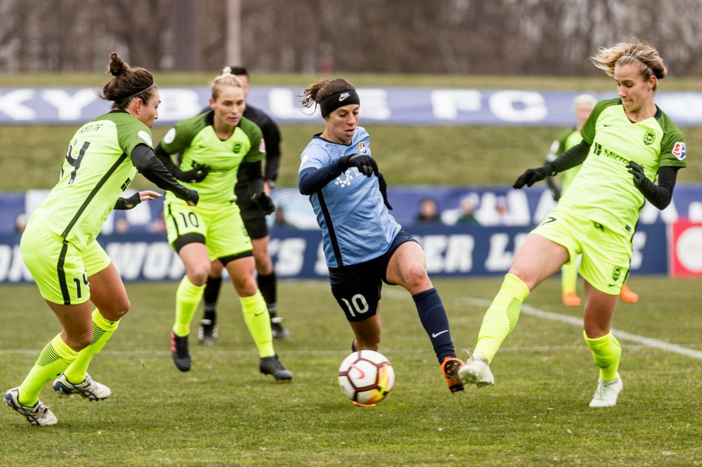 Megan Rapinoe's Seattle Reign put damper on Carli Lloyd's Sky Blue home opener, but Lloyd hopes blue skies are ahead