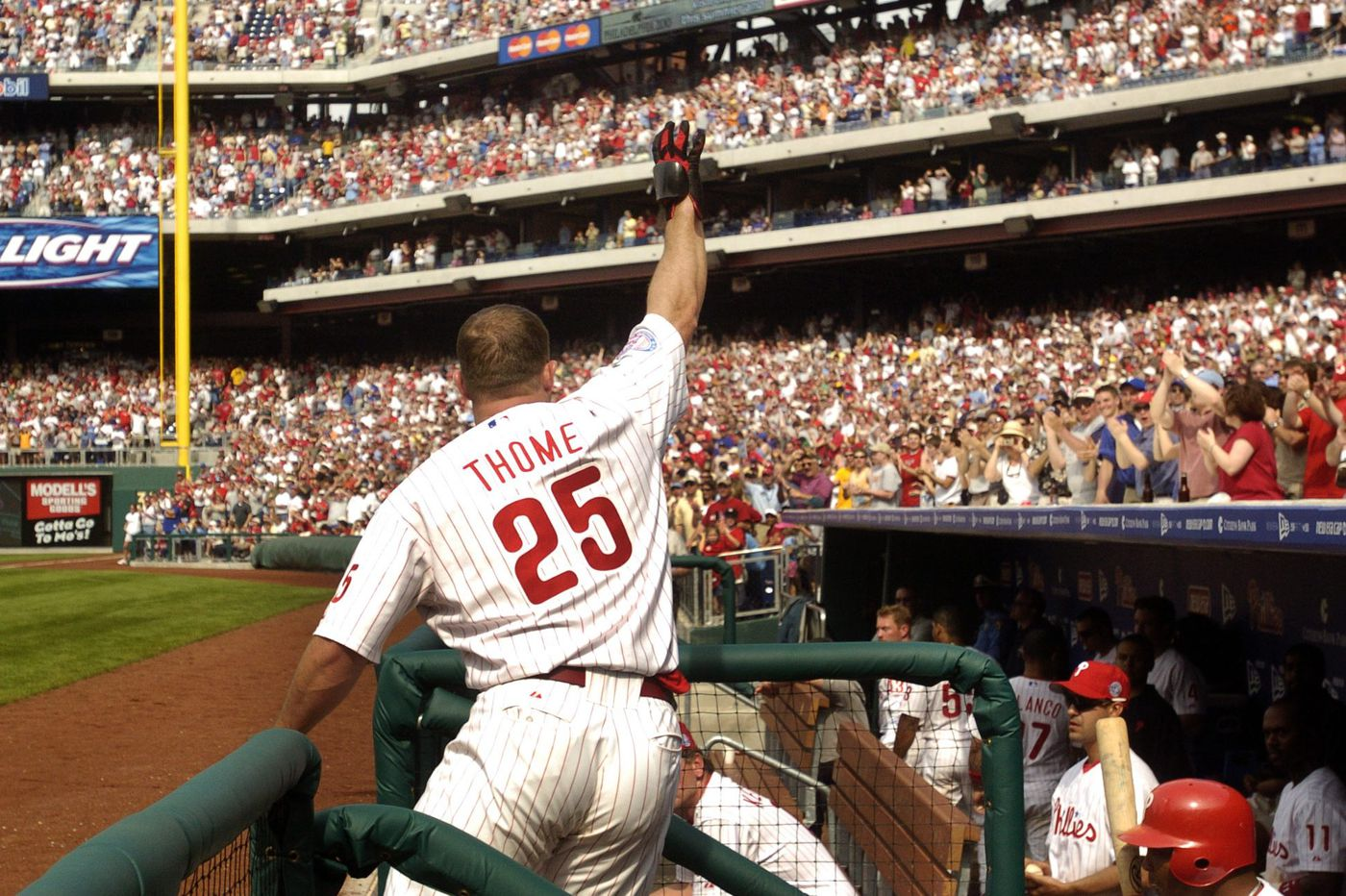 25 things about Jim Thome and his Phillies' legacy
