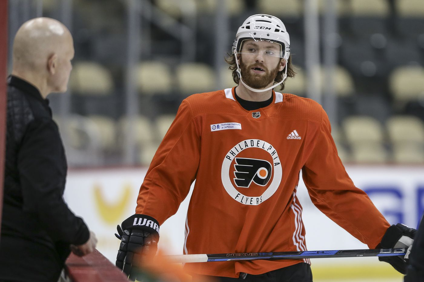 Flyers' Sean Couturier injured in benefit game but should be ready for start of the season
