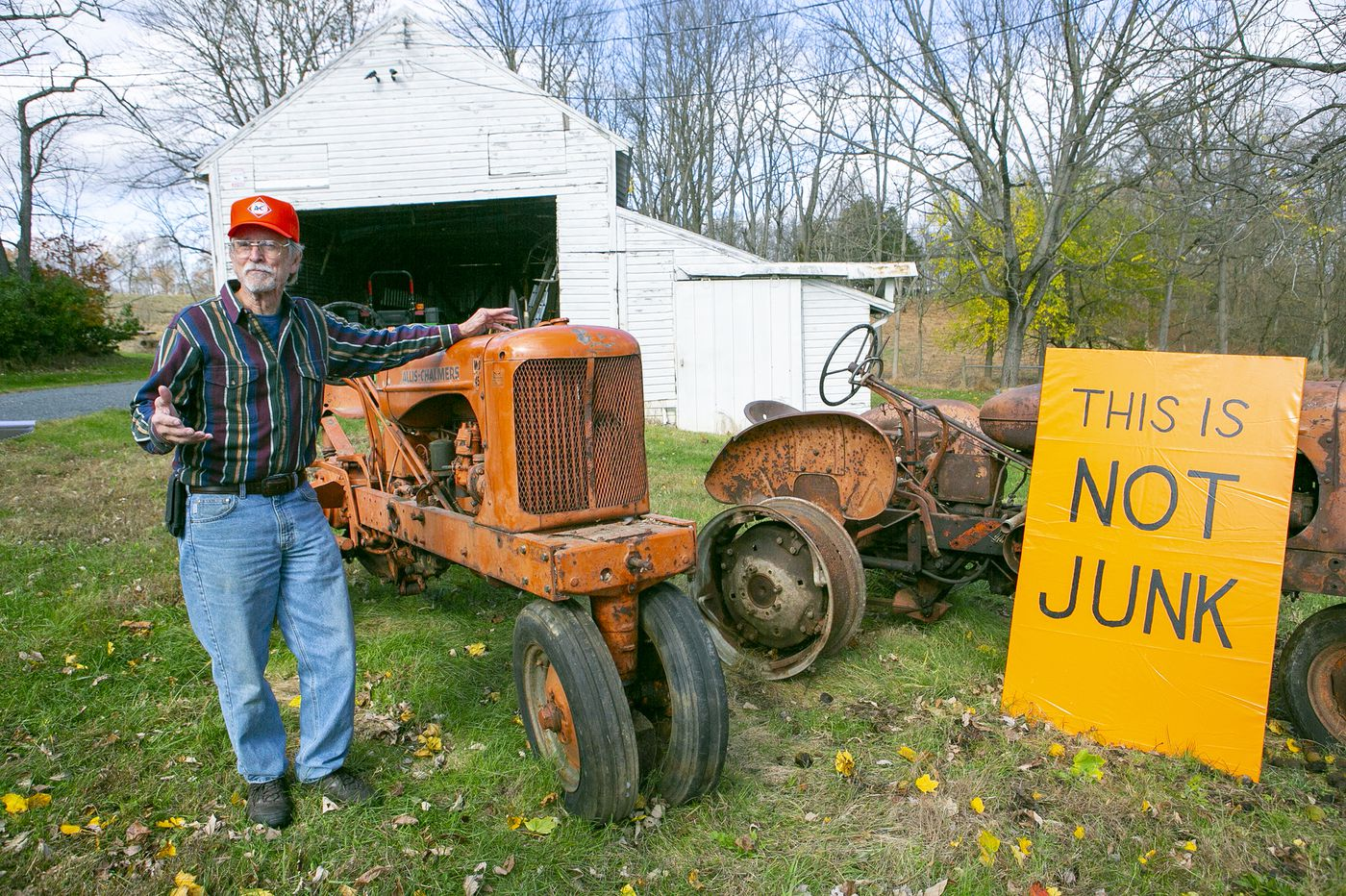 Is old farm equipment on the lawn part of rural Pennsylvania's charm — or just junk?