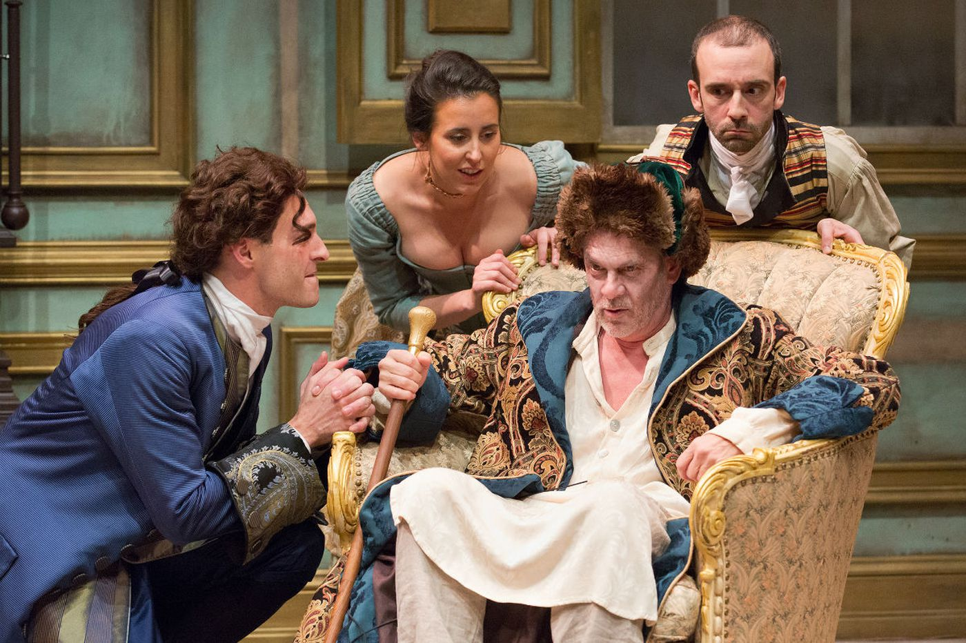'Heir Apparent' at the Lantern: Long, but full of brilliant language and humor