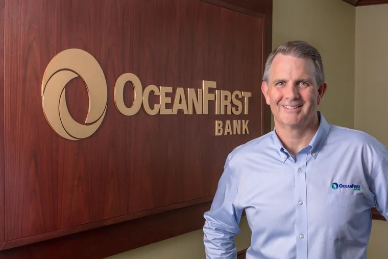 Christopher Maher, CEO of OceanFirst Bank