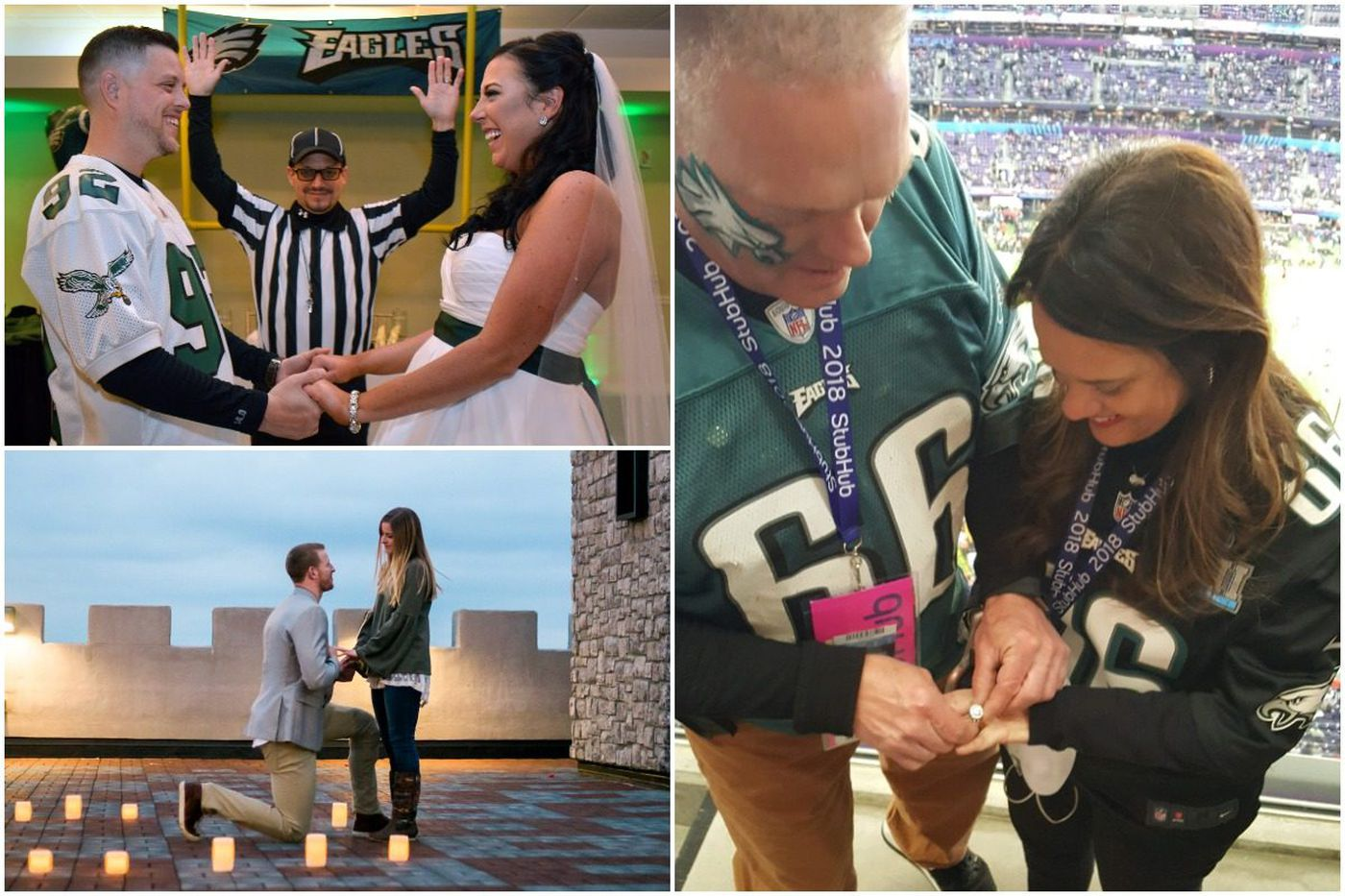 10 love stories of Eagles fans from the Super Bowl to the parade