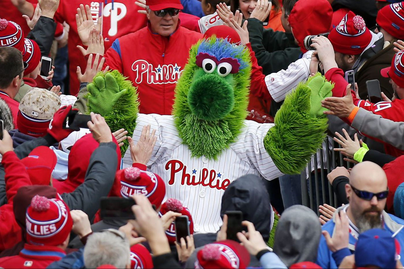 'It was one heck of a day:' Phillies fans reflect on opening days past
