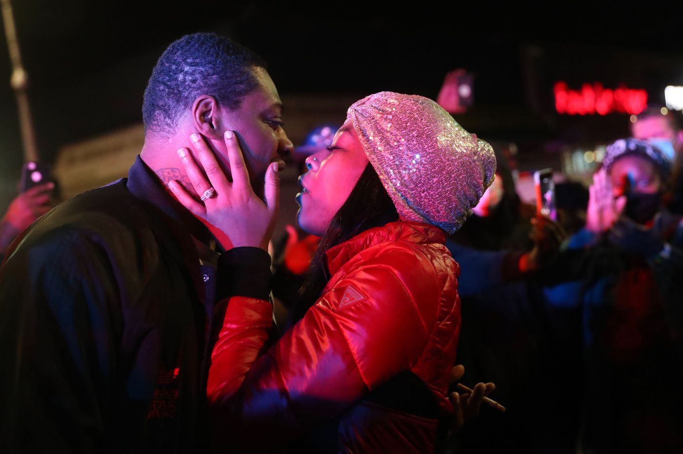 A couple got engaged in the middle of West Philly protests for Walter Wallace Jr.