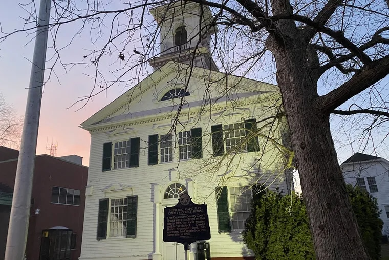 The old Cape May Court House on Route 9 has been the site of meetings of a local chapter of the Oath Keepers, an extremist group that had a visible presence at the Jan. 6 Capitol insurrection.
