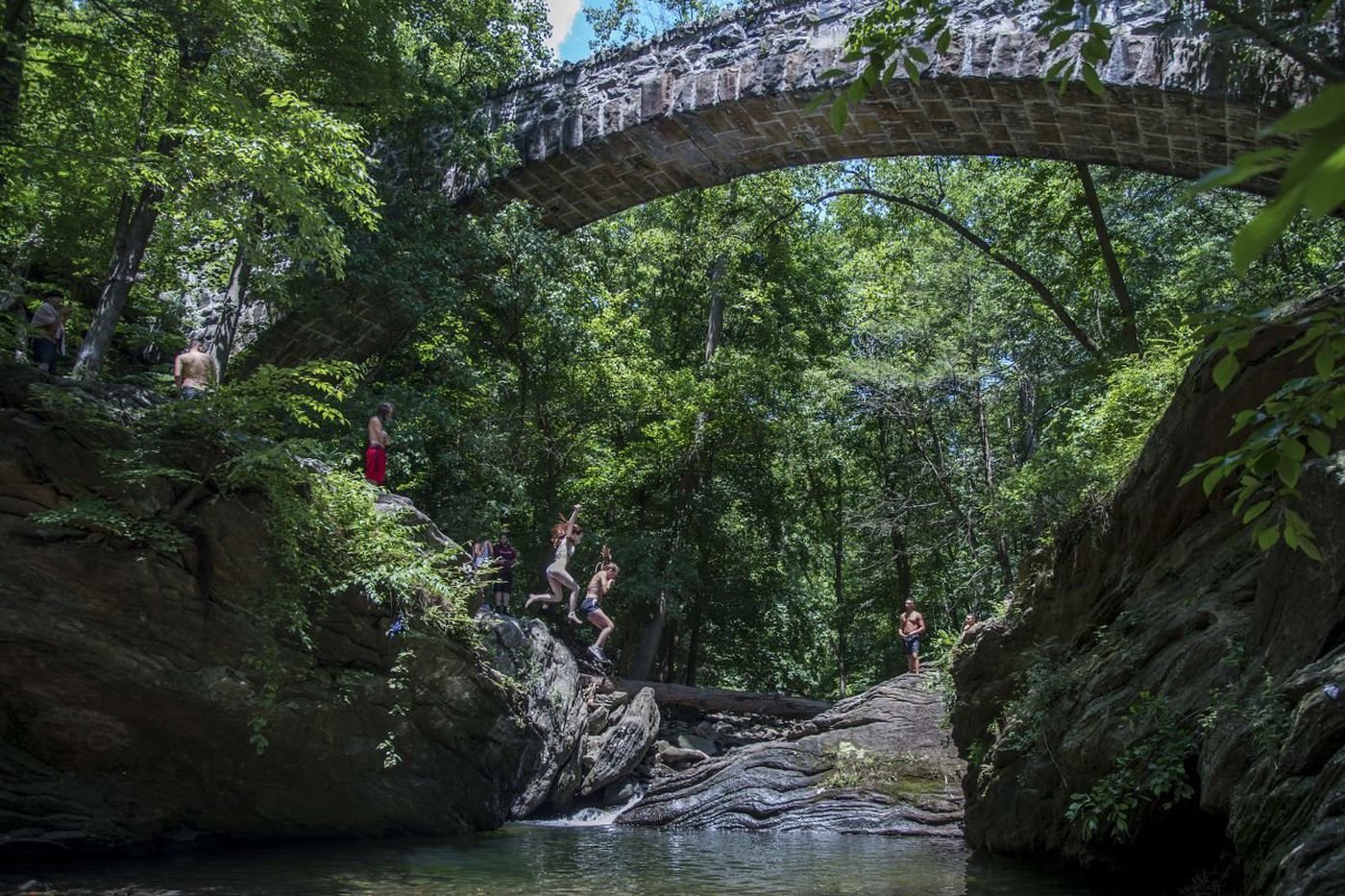 Philadelphia to close Devil's Pool on weekends to 'ensure public safety'
