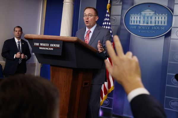 Analysis: Mulvaney's twin admissions put Trump at center of emoluments and Ukraine controversies