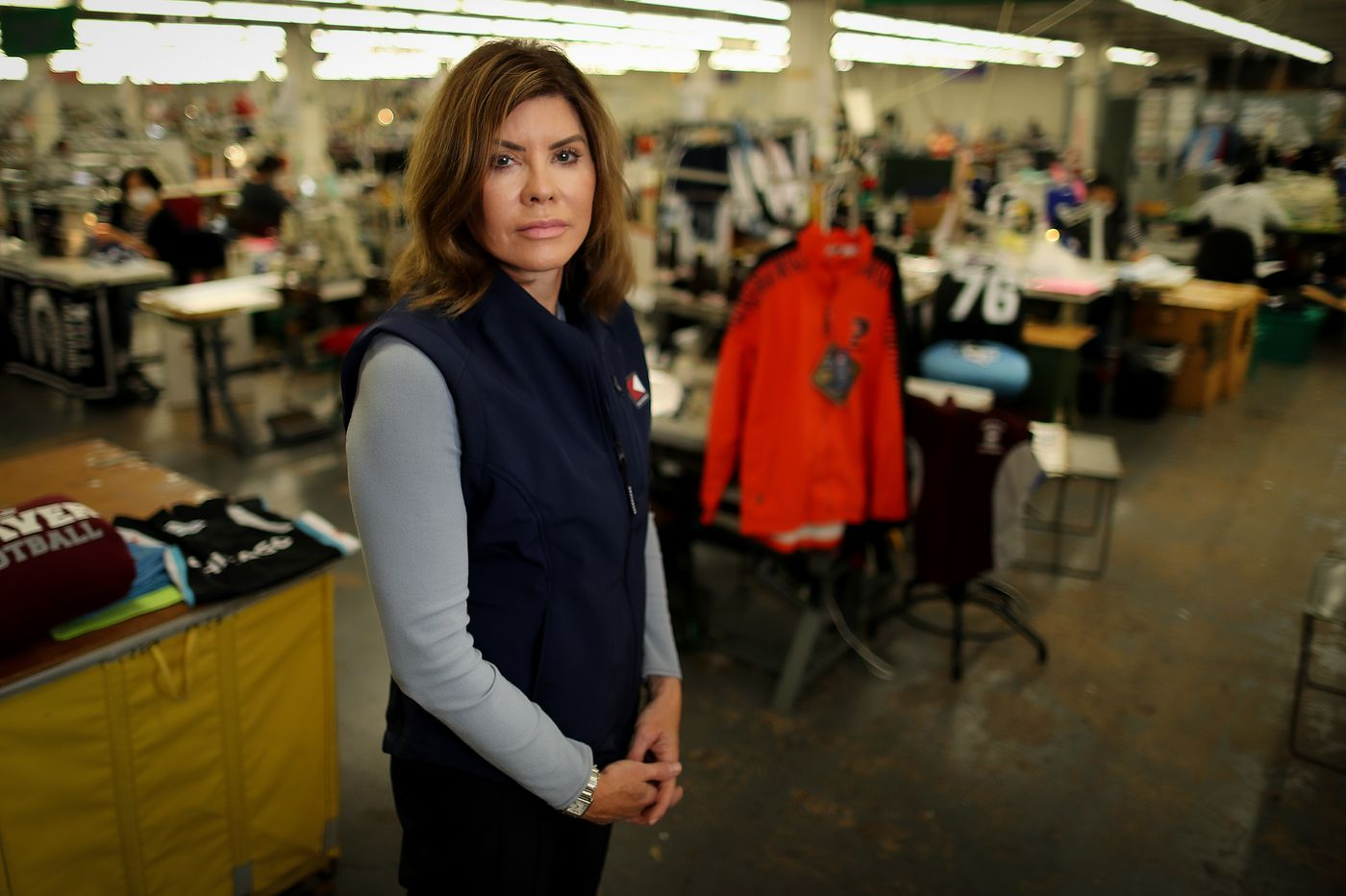 A Philly sports clothing firm picks its first female CEO and tasks her with 'making people aware that we exist'