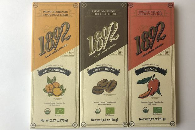 Chocolate for your Valentine from Ecuador, by way of New Jersey