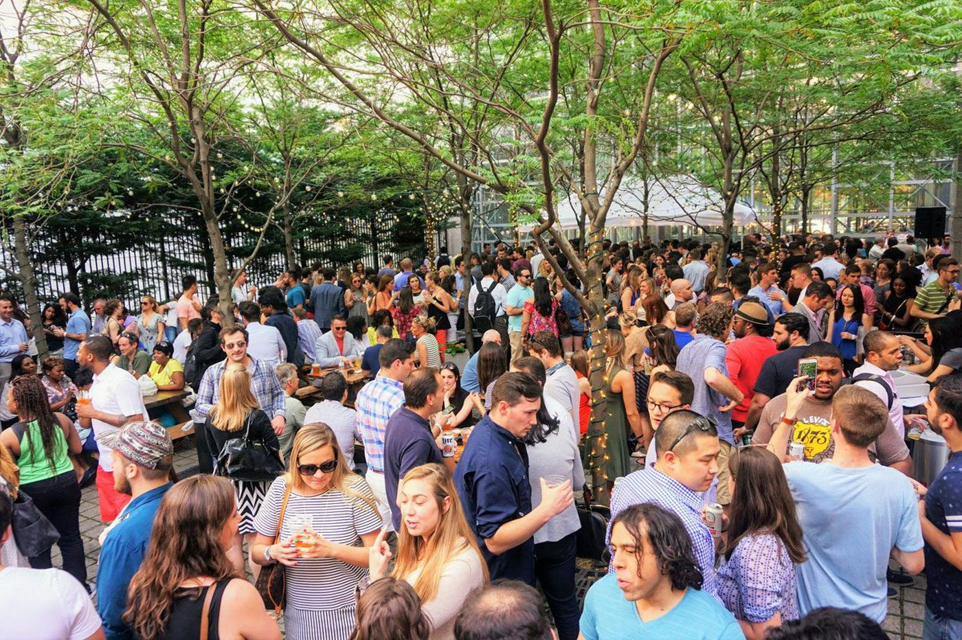 Uptown Beer Garden to open its longest season Thursday