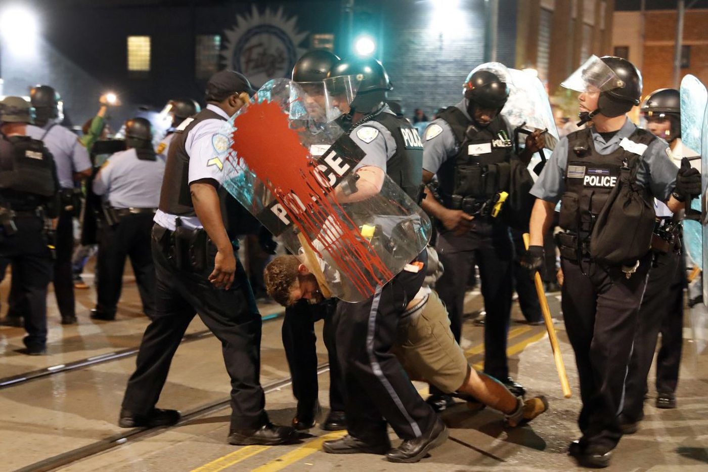 America, we need to talk about this 'police riot' in a major U.S. city | Will Bunch