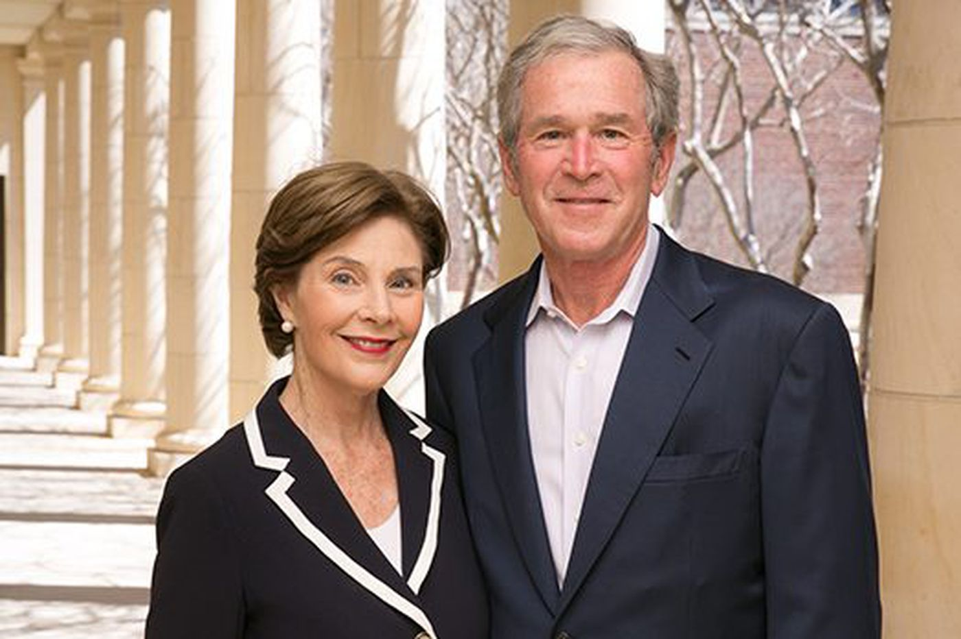 Former President George W. Bush, Laura Bush named recipients of 2018 Liberty Medal
