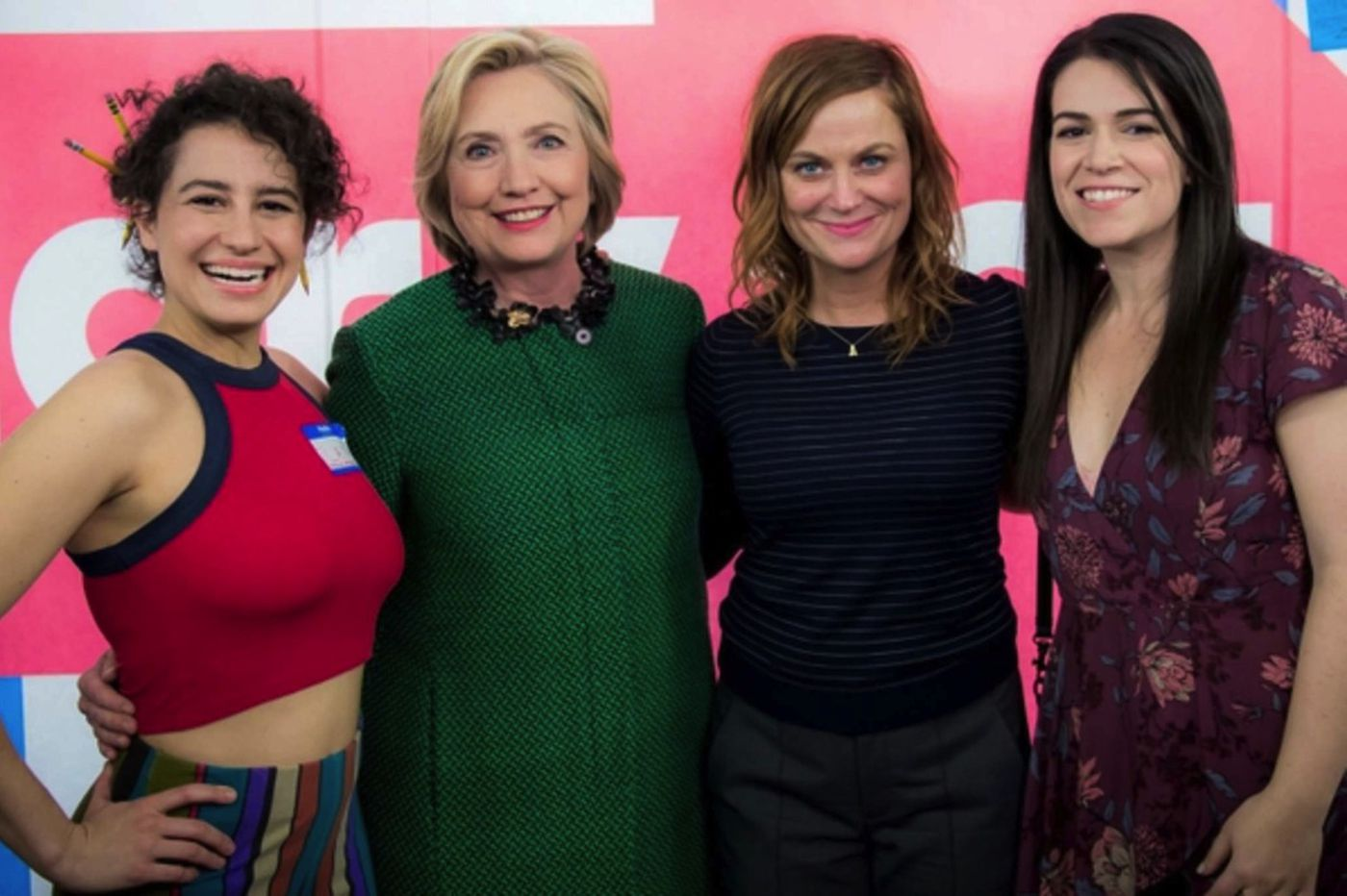 Sideshow: Clinton hangs with 'Broad City' broads